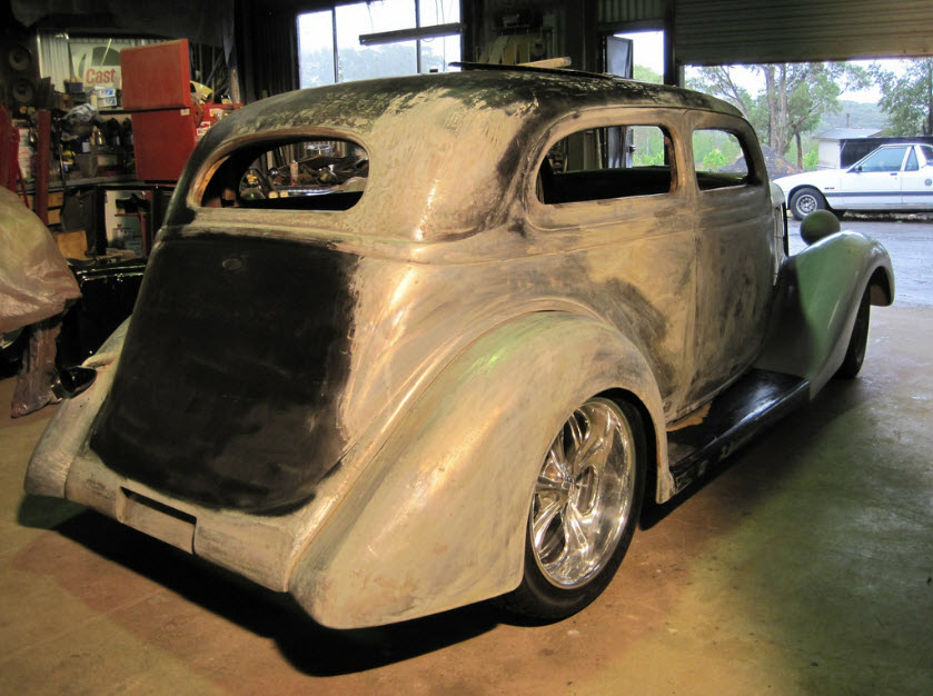 35 Ford Slantback